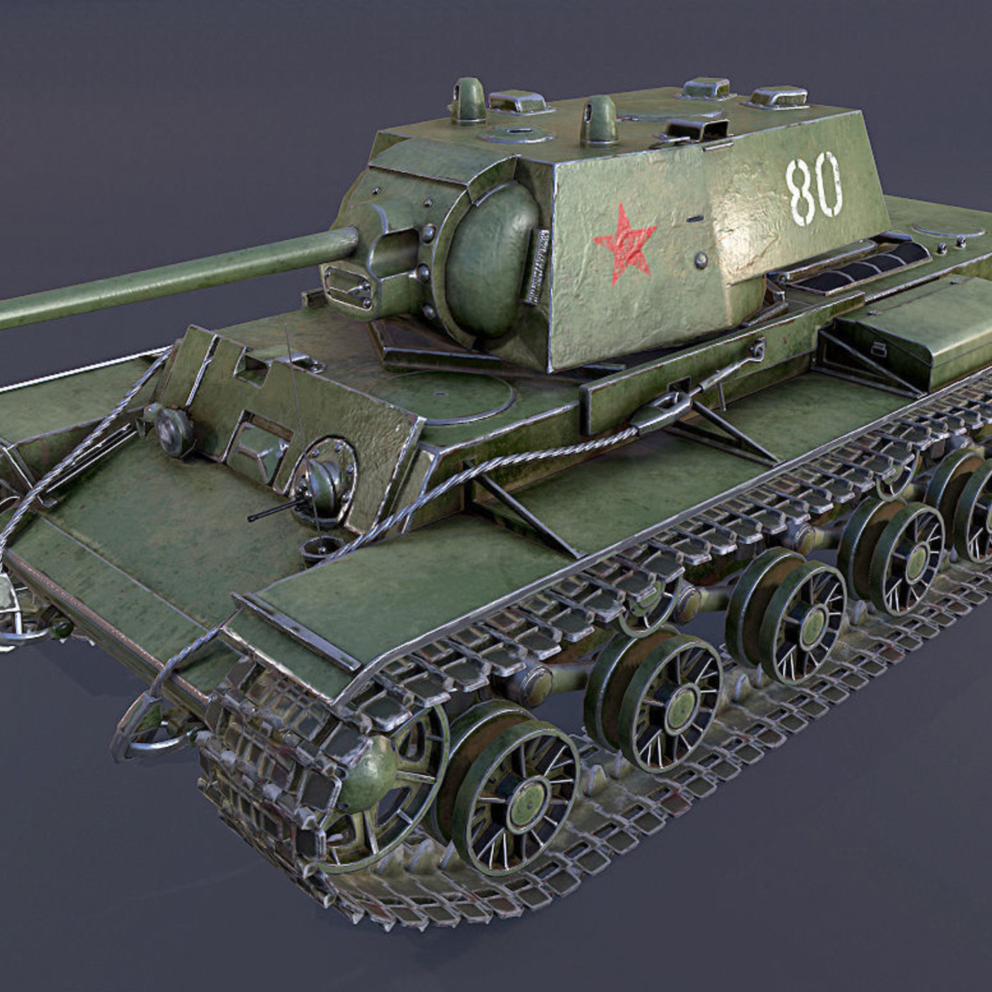 KV-1 Tank - Professional Work