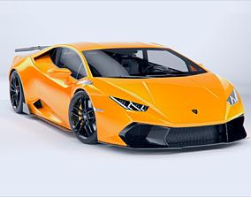 Lamborghini huracan Vorsteiner Novara 3D model