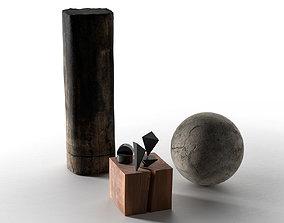 3D model Decorative Objects Set