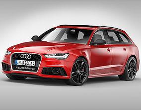 Audi RS6 Avant 2017 quattro 3D