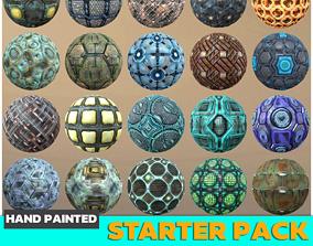 Sci-fi Textures Starter Kit 3D asset