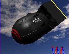 Bomb Fatboy scheme 3D model