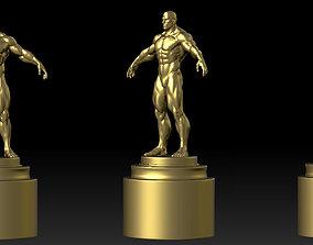 Bodybuilding trophy 3D print model