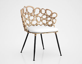 Ella Occasional Chair by Palecek 3D model