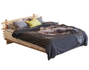 3D model Cubile Bed fur