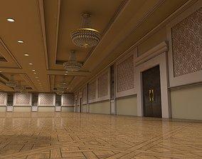 Hotel Ballroom 6 3D model