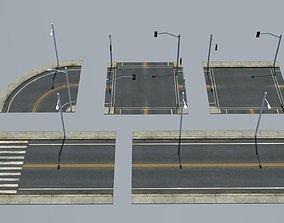 3D model Road Pack