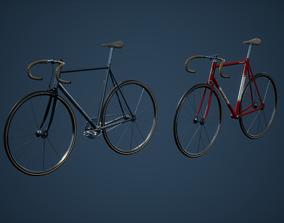 Modular Bike Game Ready 3D asset