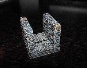 3D printable model OpenForge Stone Dungeon Corridor