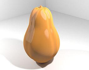3D Tropical Fruit - Papaya