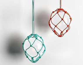 3D model round Fisherman Pendant Lamp