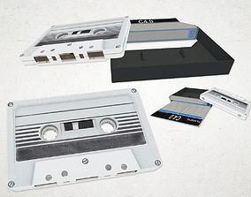 3D model Tape - Music Cassette