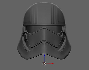 3D printable model Captain Phasma Helmet Star Wars 2