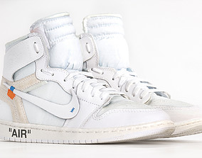 Jordan 1 Retro High Off-white Photoscan 3D