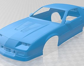 Camaro 1990 Printable Body Car