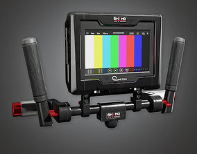 3D model Assist Monitor 01a HLW - PBR Game Ready