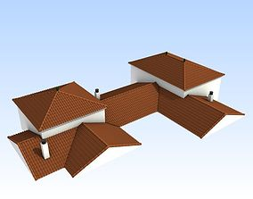3D Modular arabic andalusian roofs