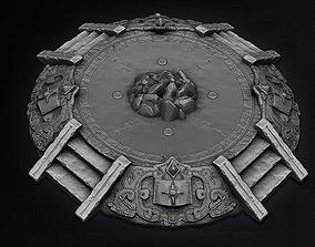 AZTEC PYRAMID ALTAR 3d Model