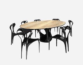 joseph walsh dommus erosion table and domus enignum 3D