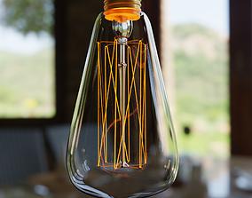 3D Incandescent Light Bulb 60W