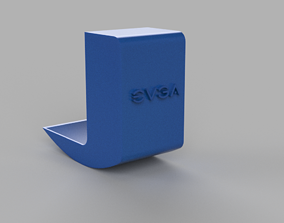 Cable managment RTX 2070 evga 3D print model