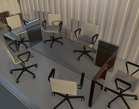 3D asset realtime Office Chair