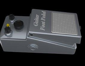 3D model Guitar Foot Pedal