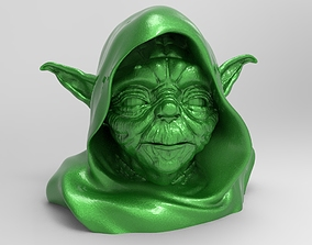 sculpture master yoda 3D printable model