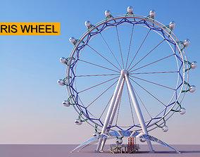 3D model Ferris Wheel ride
