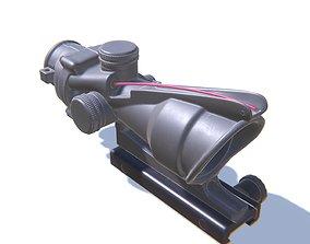 3D asset Sniper Scope 2