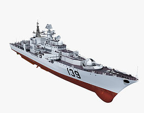 3D model Chinese Navy Modern Class Destroyers