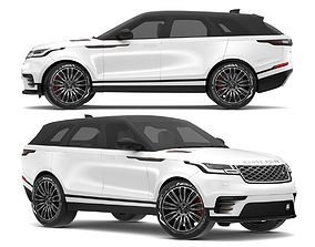 2018 Land Rover Range Rover Velar Fuji White 3D model