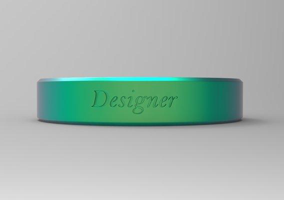 Designer Ring Green