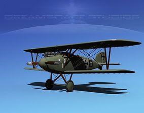 Albatross D III Fighter V16 3D