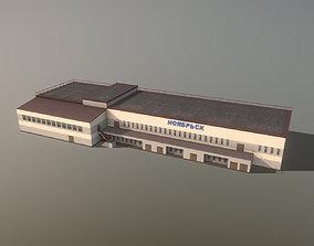 3D model Airport Terminal USRO Terminal-01