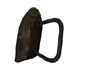 Old rusty iron 3D asset