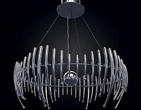 Modern Metal Suspension Chandelier 3D model