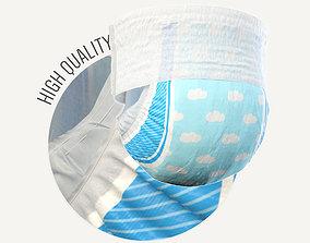 3D nappy Diaper