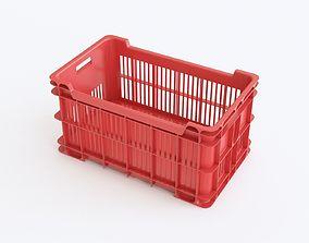Plastic crate 05 3D