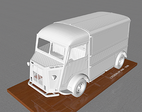 3D printable model CITROEN HY VAN 1948