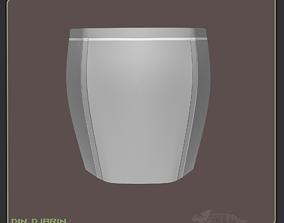 Din Djarin Mando Hip Armor Cosplay 3D printable model