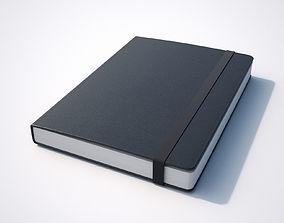 Notebook Black 3D