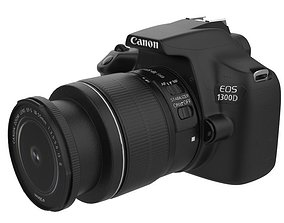 3D model Canon DSLR 1300D