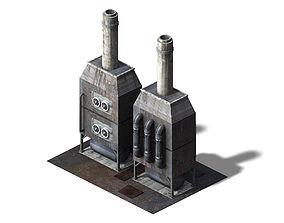 Future World - Industrial Area 06 3D model