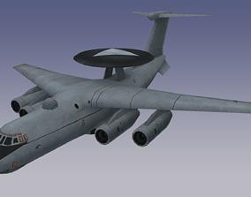 3D model Russian A50-AWACS