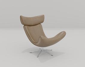 Noobist - Armchair - Denabise 3D asset animated