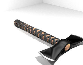 Battle Axe - Tomahawk 3D model