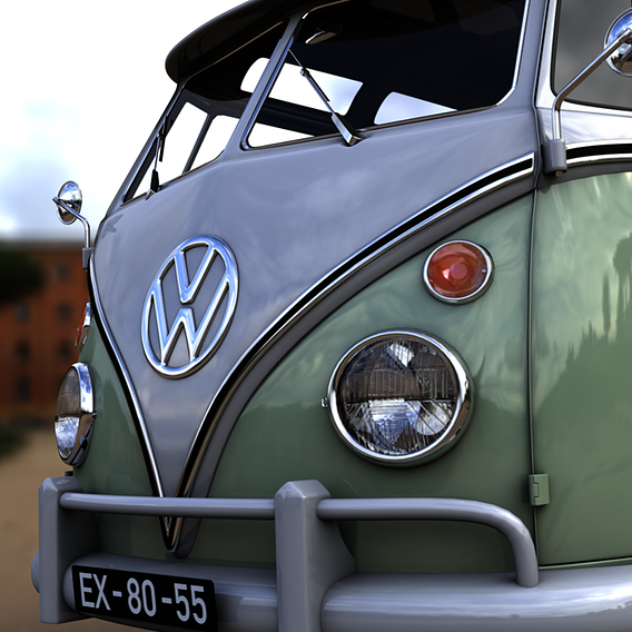 VOLKSWAGEN T1 SPLIT SCREEN 1967