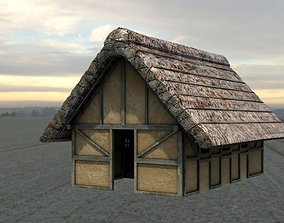 Saxon House 3D model