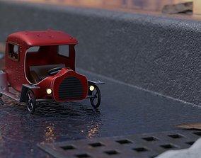 footpath 3D model Toy car